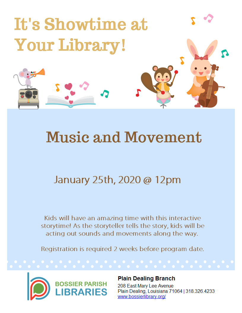 Music and Movement Storytime