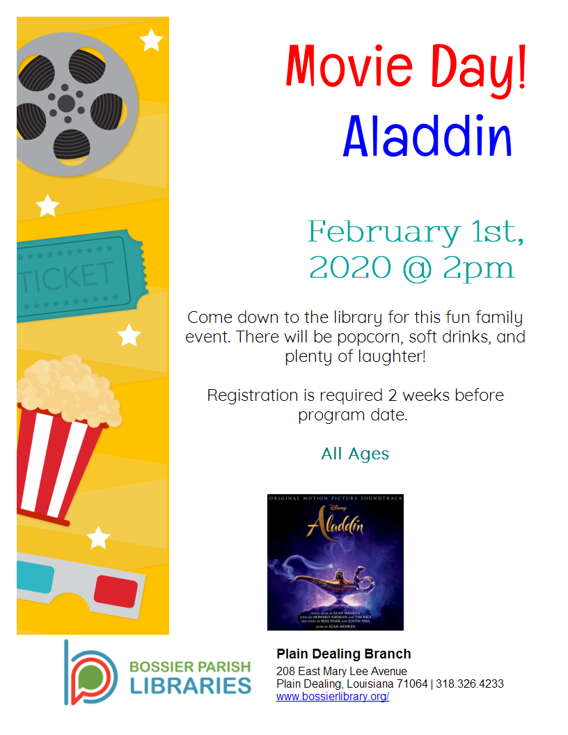 Movie Day: Aladdin