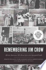 Cover image for Remembering Jim Crow