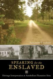 Cover image for Speaking for the Enslaved