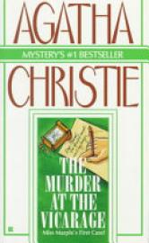 Cover image for The Murder at the Vicarage