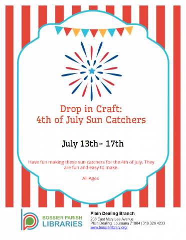 4th of July Sun Catchers